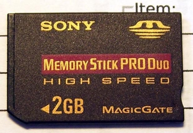 Bogus Memory Stick - Front