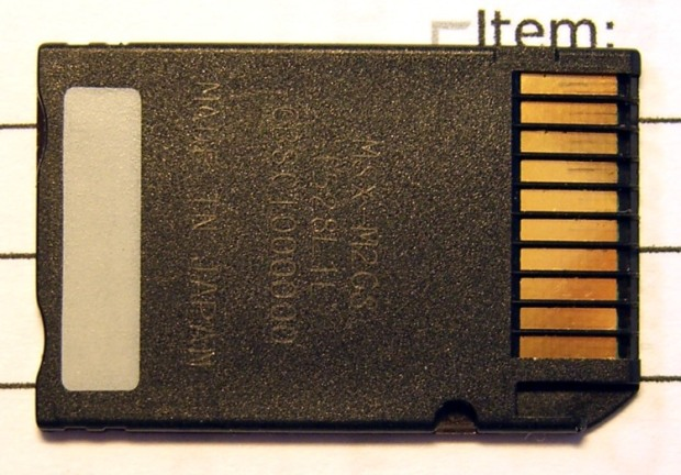 Bogus Memory Stick - Rear