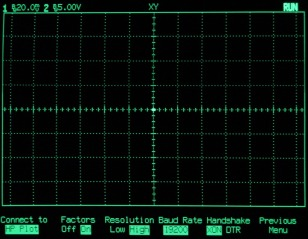 HP54602B Serial Setup Screenshot