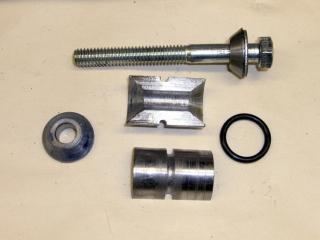 Expanding plug parts