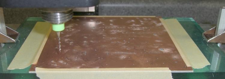 Circuit board drilling