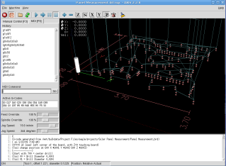 AXIS hole-drilling screenshot