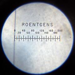 V-742 Dosimeter set to Zero