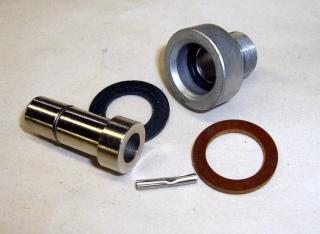 Pedestal contact components
