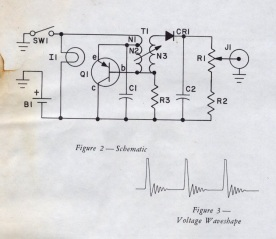 V-750 Dosimeter Charger Schematic