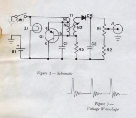V-750 Dosimeter Charger Schematic