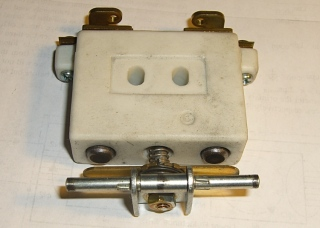 Rheostat speed control contacts