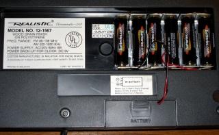 Clock-radio battery hack
