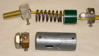 Charging pedestal components