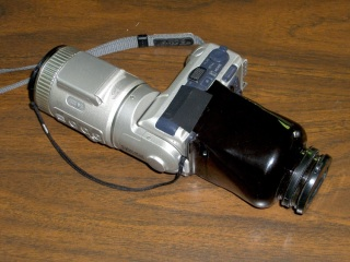 Viewer attached to camera