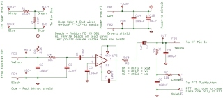 IC-Z1A Mic Amp Schematic