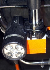 White 5-LED headlight