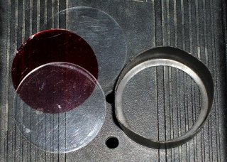 Red filter components