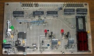 Tek 492 Memory Board Reader