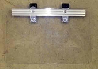 Acrylic Plate and Aluminum Stiffener