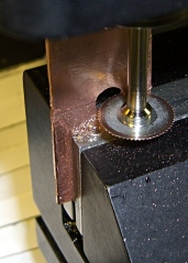 Slitting Copper Jaws