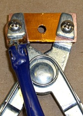 AA Cell Clamping Pliers