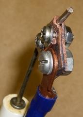 Center Electrode - Front Detail