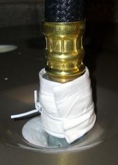 Tissue-paper leak detector