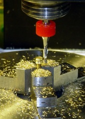 Circular Milling the Nut