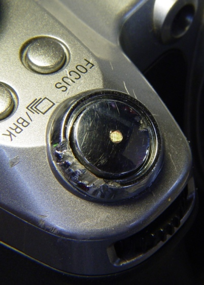 Repaired Shutter Button