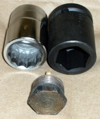 Anode rod head with sockets