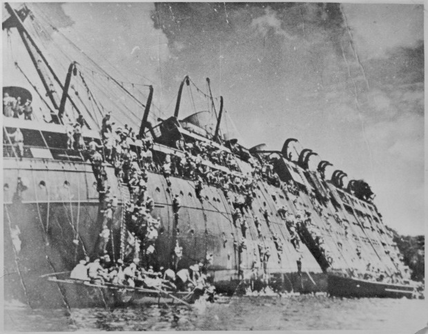 Sinking of the SS President Coolidge