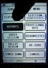 Voting Machine LCD Touchscreen Miscalibration