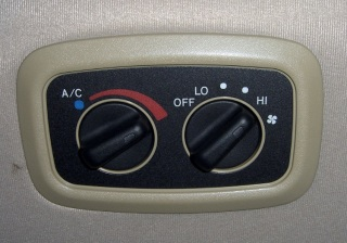Rear Temperature Control
