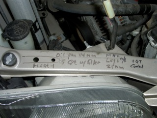 Engine compartment information