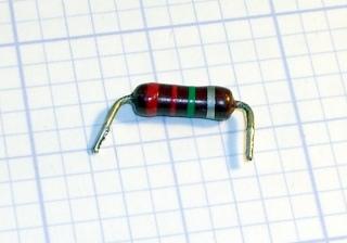 Open 2.2 meg resistor