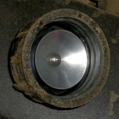 4-40 screw post - inside