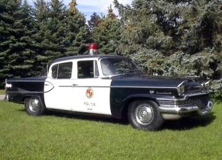 1957 Studebaker in Police Livery