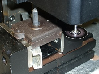 Opening switch with slitting saw