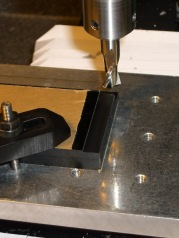 Milling plate thickness