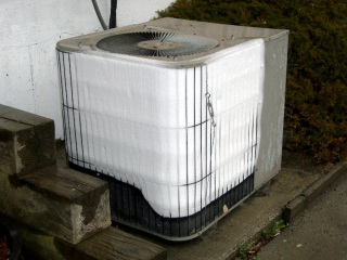 Frosted heat pump