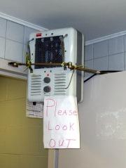 Electric Heater in Door Closer