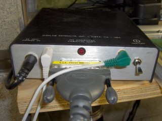 Sherline Controller with Probe and Home Jacks