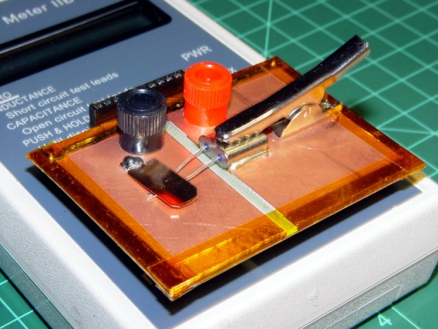 Crystal Capacitance Fixture - Detail