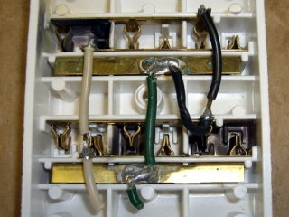 Multi-Scorched Multi-Outlet Box