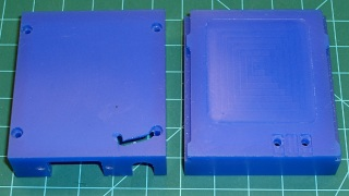 Machinable wax case - exterior