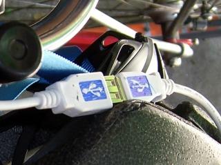 Easy-align USB connectors