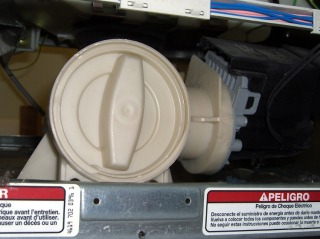 Pump access from Toe Panel