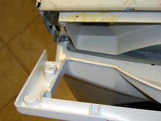 Control Panel - left screw