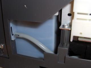 Internal tank and OEM hose