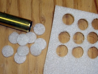 Foam cutouts