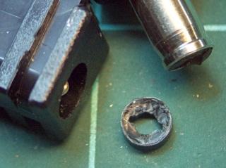 Broken tip extracted from jack