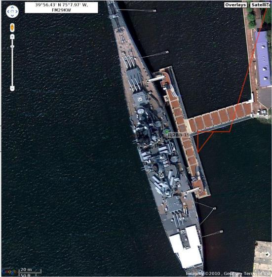 Position Jitter - ZNU at NJ2BB-15