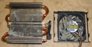Fuzz in AMD K6 CPU Cooler