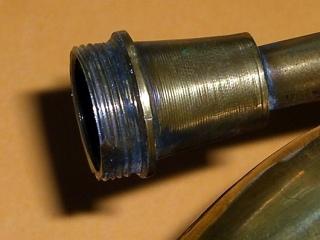 Horn fitting